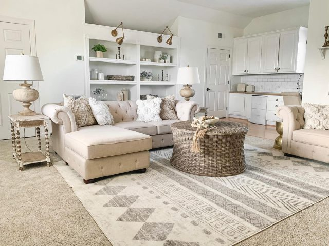 I need your help!! In my Stories today, I shared 3 beautiful options from @boutiquerugs and I would love to hear which one you like the best for my bonus room.   In the comments, vote  #1 #2 #3 Thank you so much for your help, and don't forget to head over to my Stories for links and details on these beautiful rugs!  #bhghome #shiplap #modernfarmhouse #farmhousestyle #interiors123 #homedecor #farmhouseinspired #farmhousedecor #neutraldecor #americanfarmhousestyle #prettylittleinteriors #fixerupper #countrylivingmagazine #mydecorvibe #currentdesignsituation #betterhomesandgardens #barndoor #diy #boutiquerugs #gift